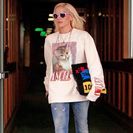 Gwen Stefani's Cat Sweatshirt