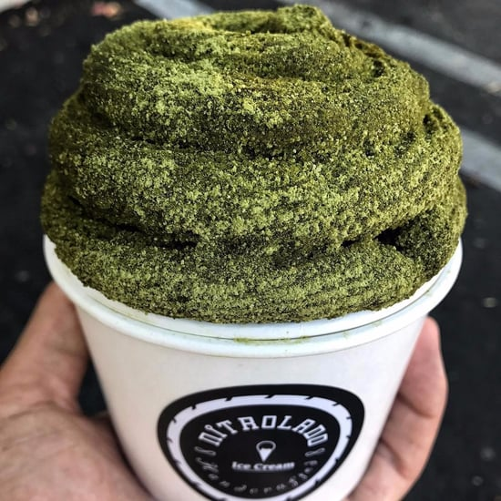 Matcha Churro Bowls at Nitrolado