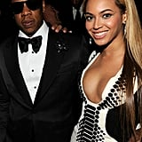 Jay Z and Beyoncé were dressed to the nines for a New Year's Eve event in Las Vegas in December 2010.