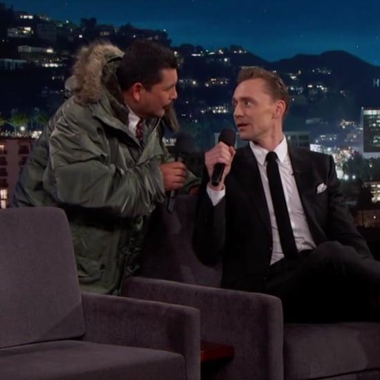 Tom Hiddleston Singing in Spanish on Jimmy Kimmel Live 2017