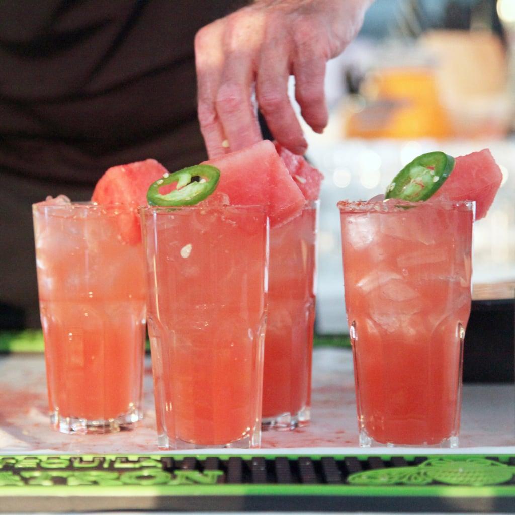 Watermelon Spice Cocktail