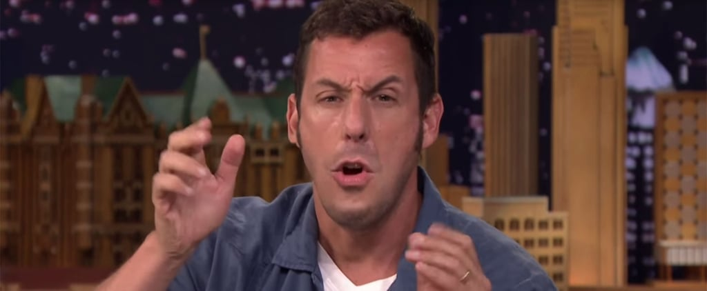 Adam Sandler and Jimmy Fallon Play Lip Flip Video