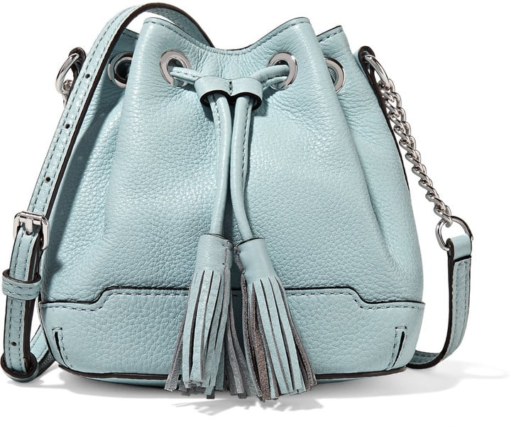 Rebecca Minkoff Micro Lexi leather bucket bag ($195)