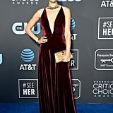 Emmy Rossum at the 2019 Critics' Choice Awards