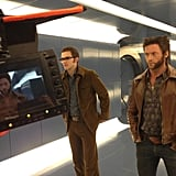 Director Bryan Singer teased a photo of his X-Men: Days of Future Past stars Nicholas Hoult and Hugh Jackman. Source: Twitter user BryanSinger