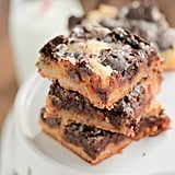 Gooey Girl Scout Cookie Cake Bars