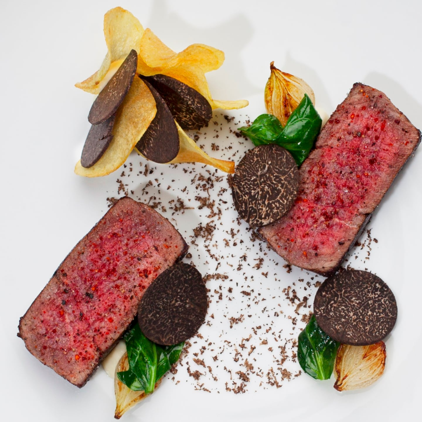 Truffle Fans Will Go Crazy For This Wagyu Beef Appetizer