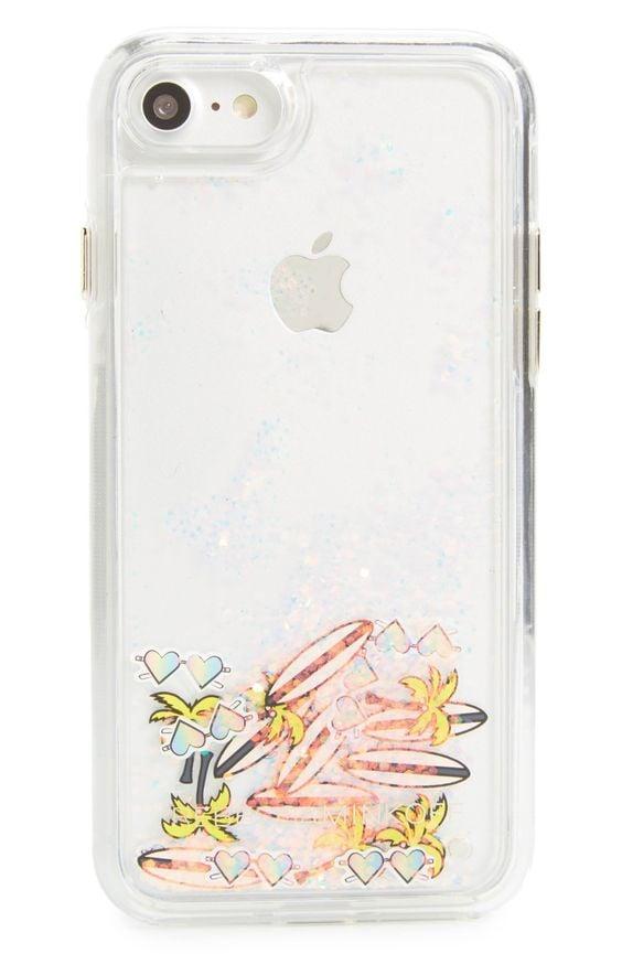 Surf Glitterfall iPhone 7 Case ($40)