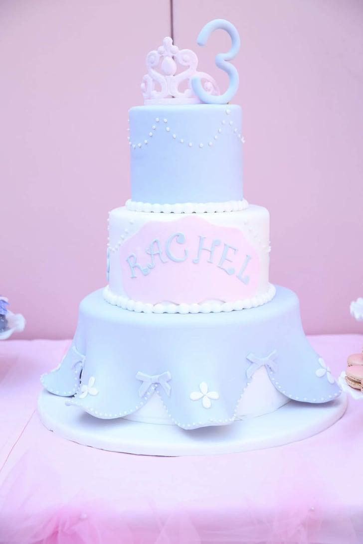 Princess Cake Sofia The First Birthday Party Ideas
