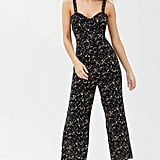 UO Easy Ruffle Jumpsuits