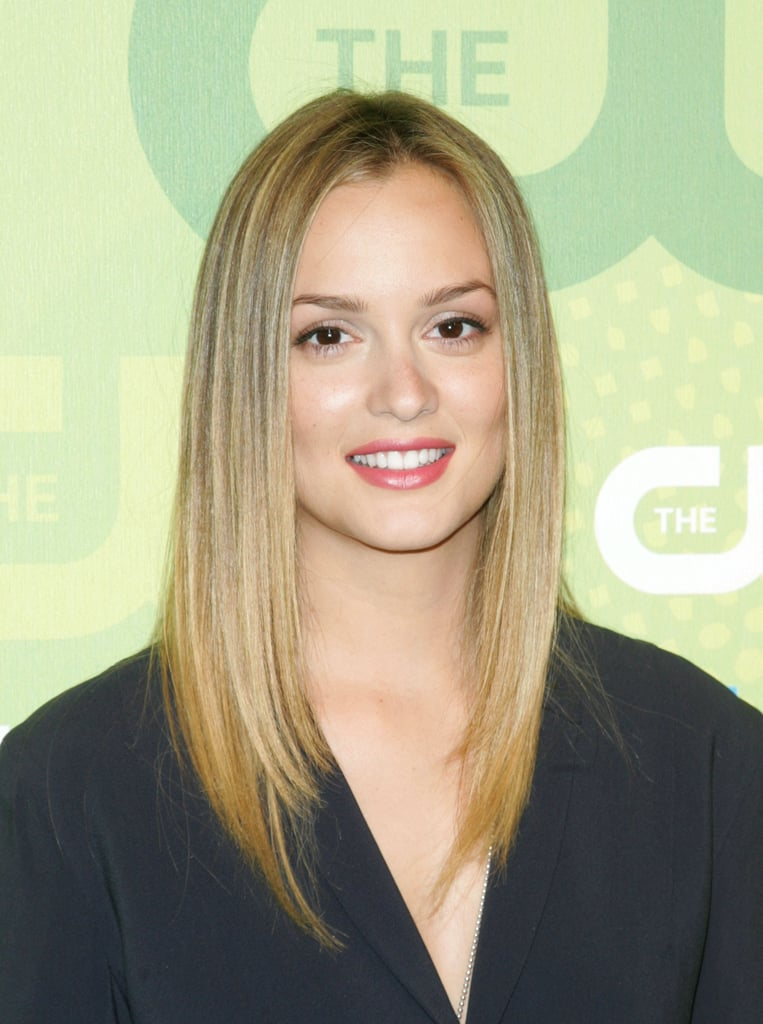 Leighton Meester went in the opposite direction of her character Blair on Gossip Girl and dyed her hair a beachy blonde in 2009. The actress, it may surprise you, is actually a natural blonde.