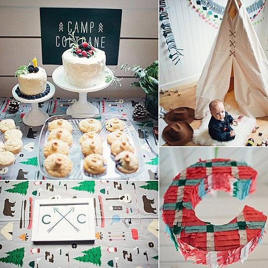 Modern Camp-Inspired First Birthday