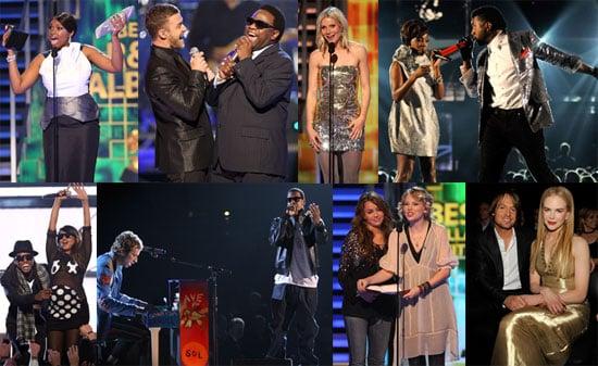 Photos of Justin Timberlake, Kanye West, Gwyneth Paltrow, Jay-Z, Nicole Kidman, Jonas Brothers at the 2009 Grammys