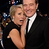 And Later Bryan Cranston at the SAGs