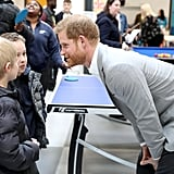 Prince Harry at Barking & Dagenham Future Youth Zone 2019