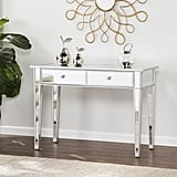 Southern Enterprises Mirrored Console Table