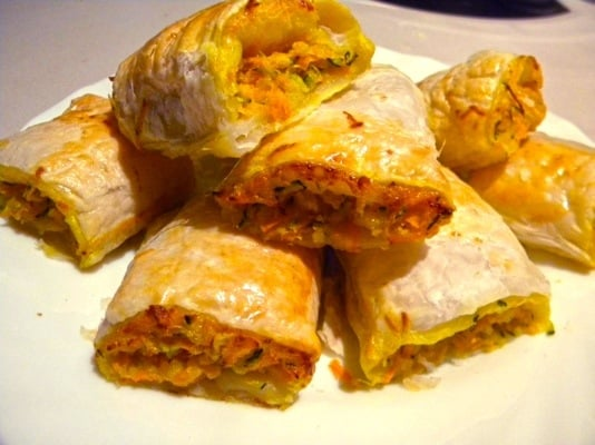 Cheese and Veggie Rolls