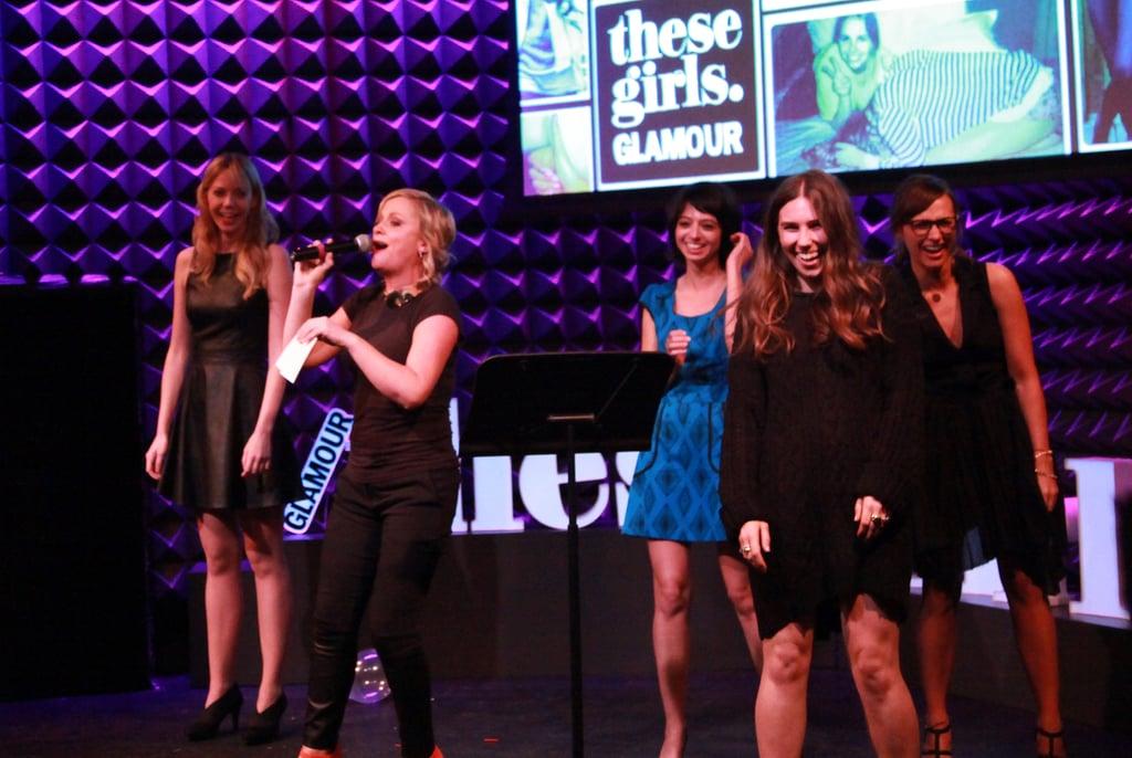 Olivia and Jason Join Funny Girls Amy & Rashida For a Glamorous Night