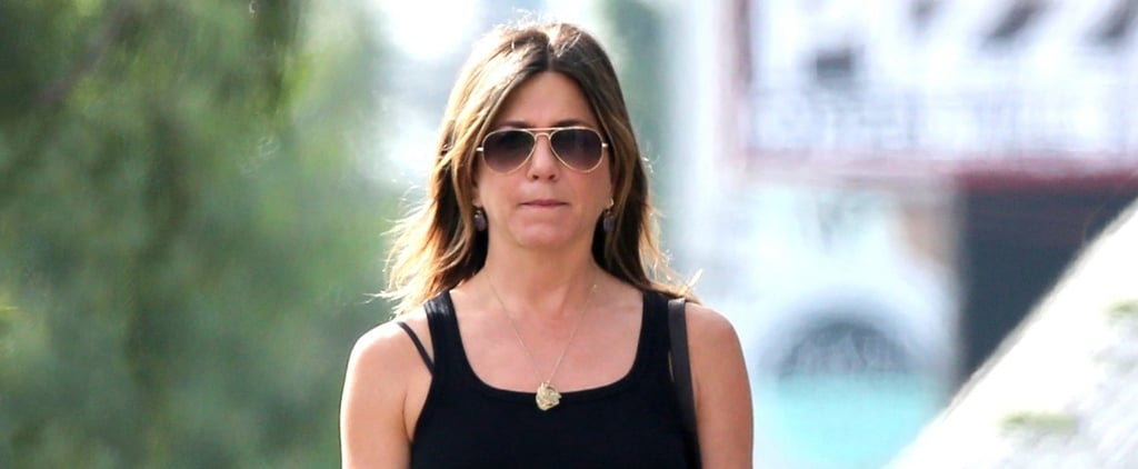 Jennifer Aniston Has a Casual Shopping Day With Friends in LA