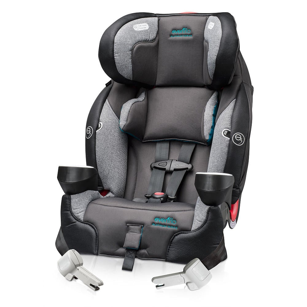 evenflo securekid dlx all in one booster car seat review popsugar moms. Black Bedroom Furniture Sets. Home Design Ideas