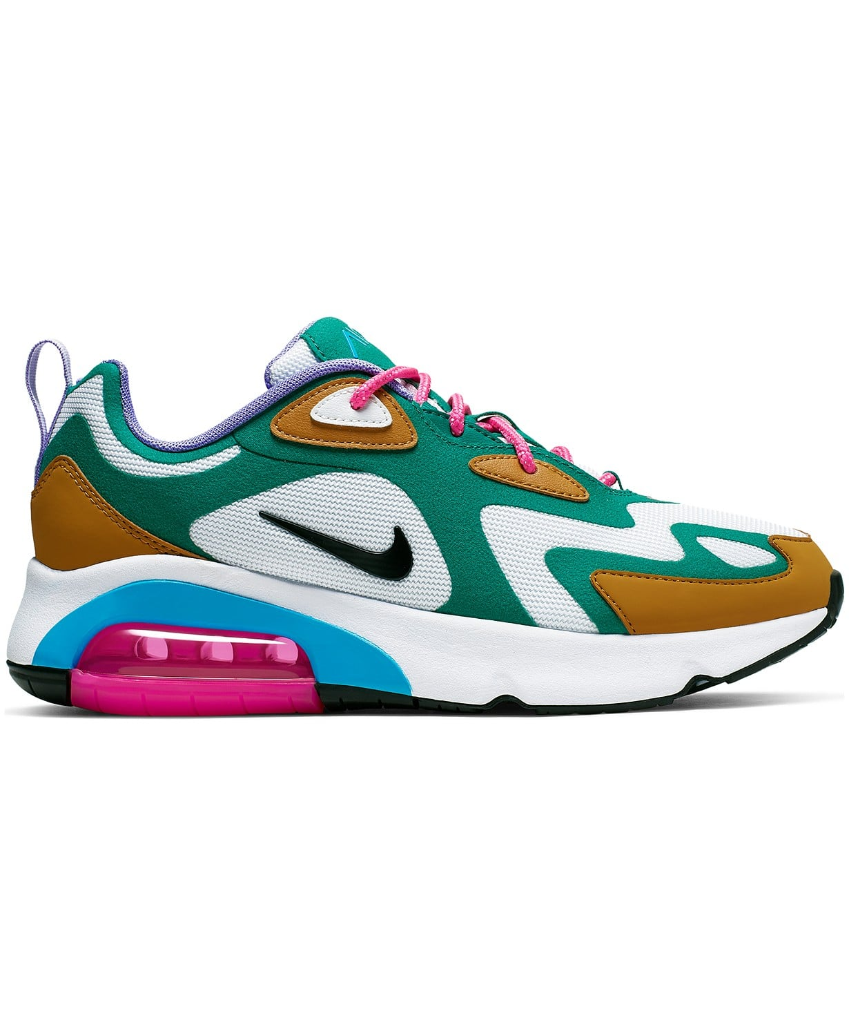condado Escabullirse Teórico  Nike Air Max 200 Sneakers | Macy's Has 7,000+ Shoes Online, but We ...