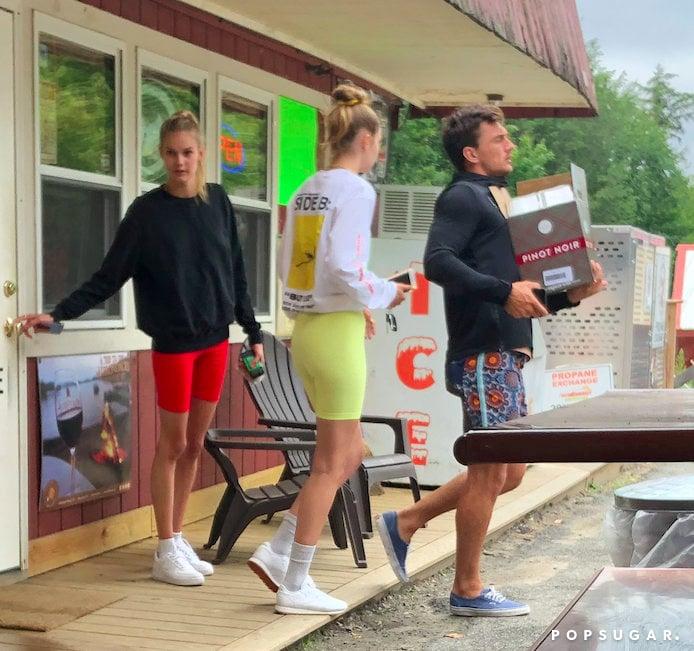 Aug. 16: Gigi Hadid and Tyler Cameron Vacation Together