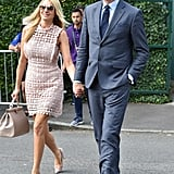 Tess Daly and Vernon Kay at Day 2 of Wimbledon