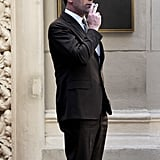 Jon Hamm transformed into Don Draper during production of Mad Men in LA.