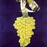 Gotta love vintage Champagne ads that look more like works of art.