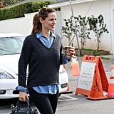 Jennifer Garner Starts the New Year Off With a Sweet Smile