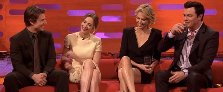 Tom Cruise, Emily Blunt, and Charlize Theron Interview