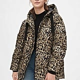 Yes, even puffers are being taken over by leopard print. Just look at this ColdControl Max Hooded Print Puffer Jacket ($168).