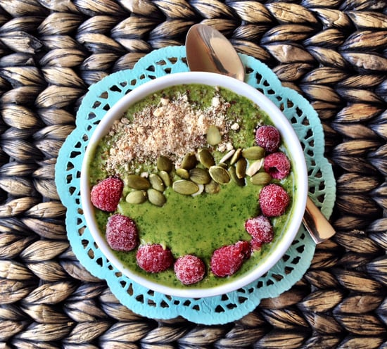 Healthy Green Smoothie Bowl Recipe