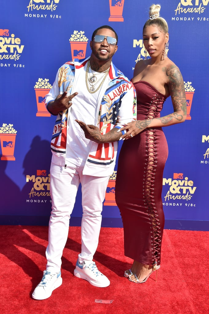 Lil Scrappy and Bambi at the 2019 MTV Movie and TV Awards