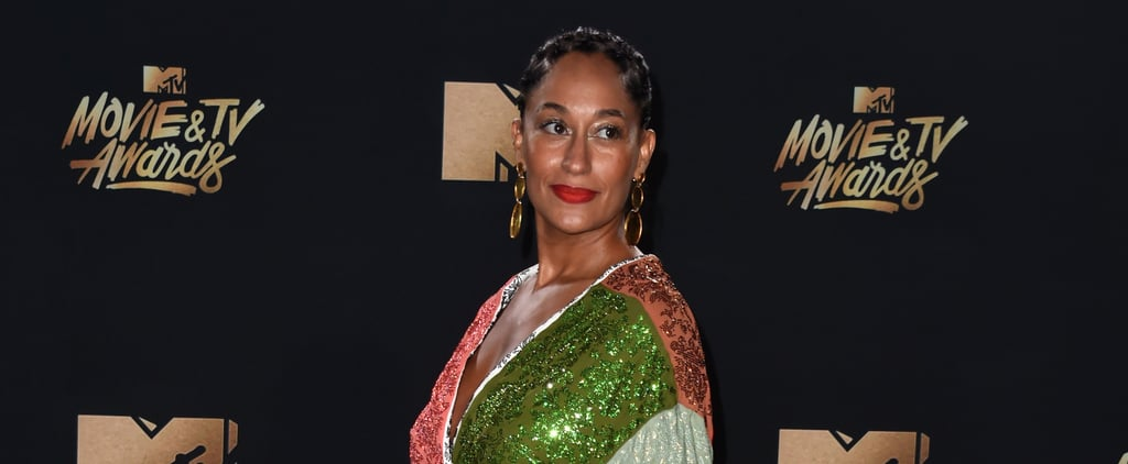 Tracee Ellis Ross's Rainbow-Coloured Dress Was Made For Instagram