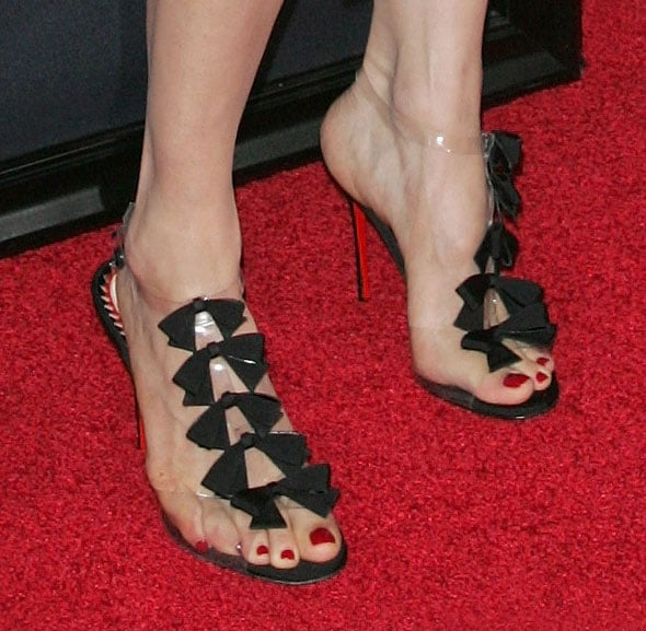 info for ca169 95099 Rachel's Christian Louboutin Bow Bow sandals were simply ...