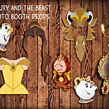Beauty and the Beast Photo Booth Props