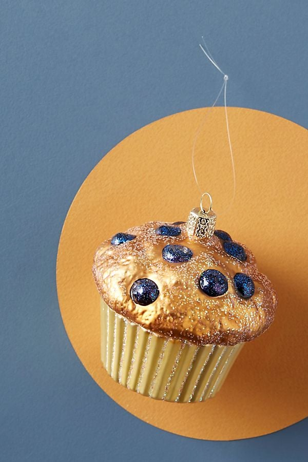 Blueberry Muffin Ornament