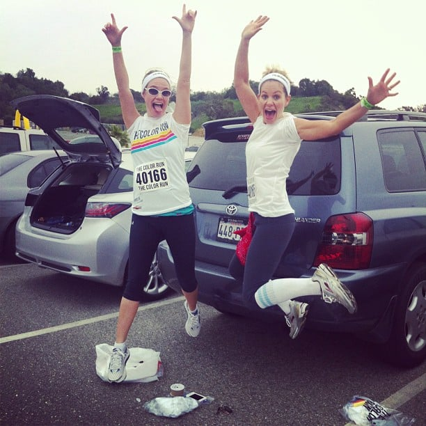 "Candace: ""#BFFs. Best Friends Forever — for you Full House fans! #ColorRun @andreabarber"""