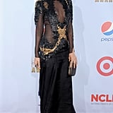 She turned it out on the red carpet at the ALMA Awards in LA in September 2012.