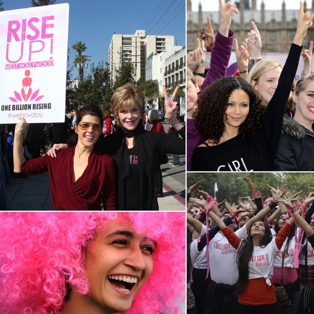 One Billion Rise Up to Fight Violence Against Women
