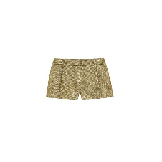 Metallic shorts are going to be my NYE alternative to a party dress or skirt this year. — Jess, PopSugar editor  Shorts, approx $365, Diane von Furstenberg at Net-a-Porter