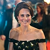 Kate Middleton at the BAFTAs