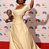 Oprah Winfrey at the 2002 Emmy Awards