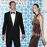 Pierre Casiraghi and his girlfriend, Beatrice Borromeo, arrive for the annual Rose Ball in 2010.