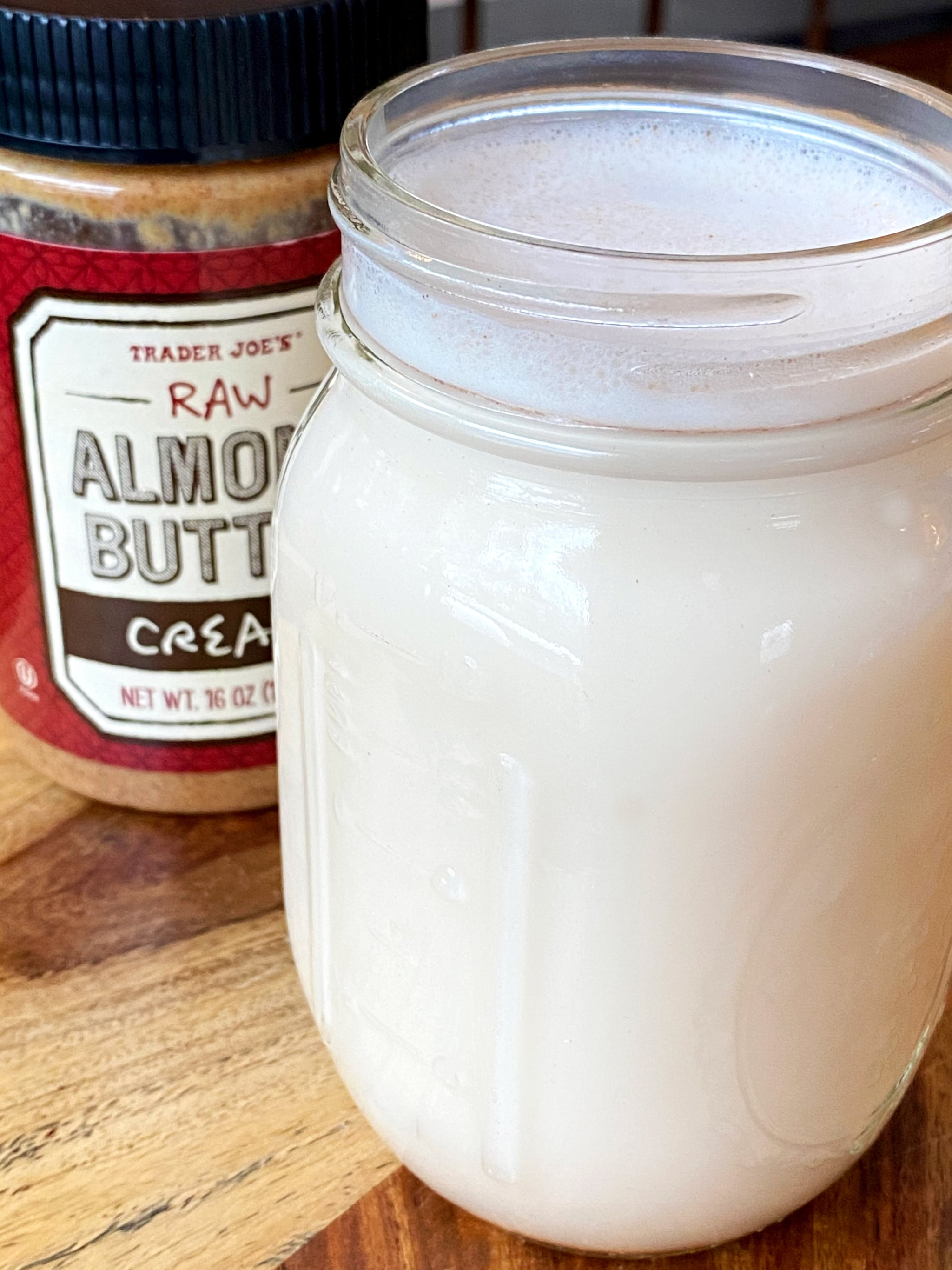 Sugar-Free Almond Milk Recipe Made From Almond Butter 5