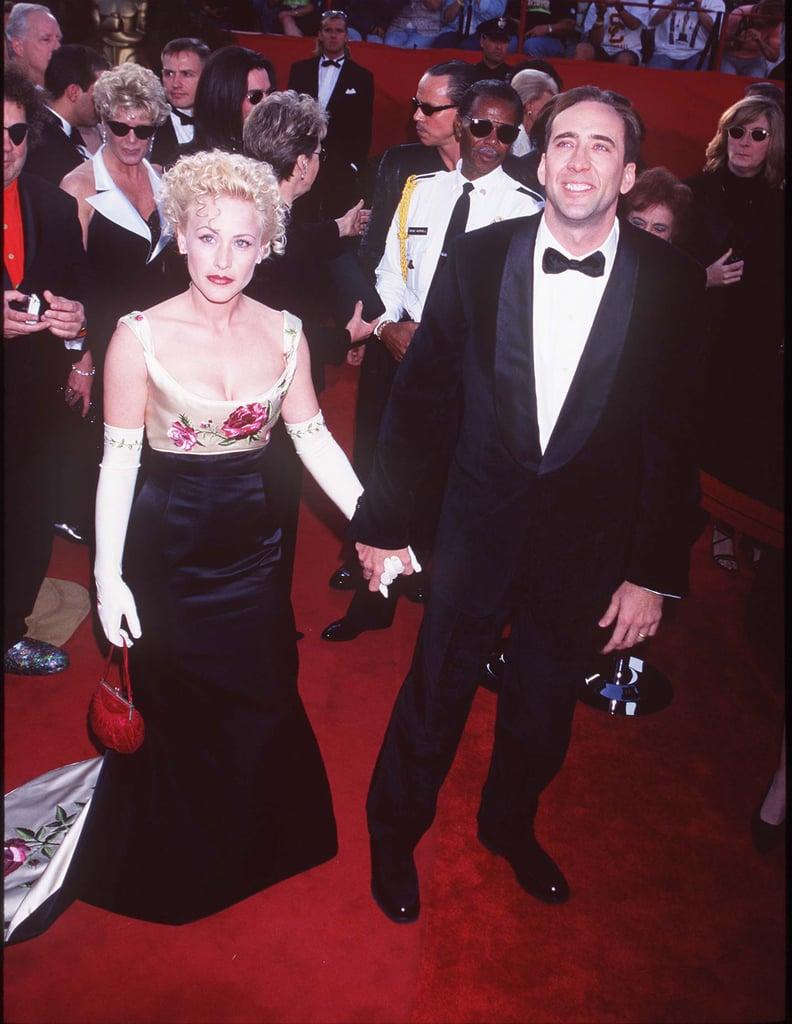 Nicolas Cage and Patricia Arquette Were Still Married