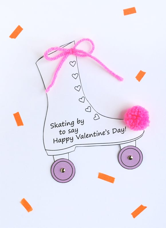 DIY Noncandy Printable Valentines Day Cards For Kids – Create Your Own Valentine Card Online Free