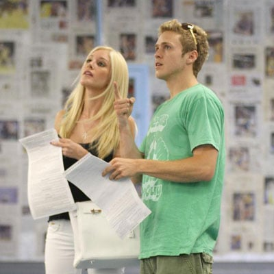 Photos of Heidi Montag and Spencer Pratt at the DMV