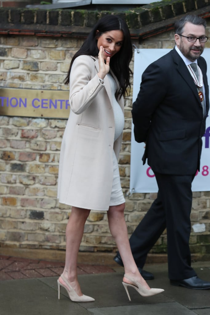 Meghan Markle's H&M Dress at Mayhew Visit January 2019